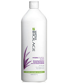 Matrix Biolage HydraSource Detangling Solution, 33.8-oz., from PUREBEAUTY Salon & Spa
