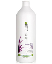 Matrix Biolage Ultra HydraSource Conditioner, 33.8-oz., from PUREBEAUTY Salon & Spa