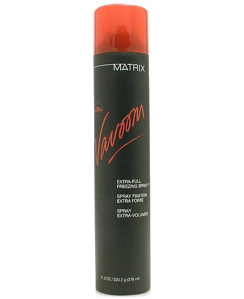 Matrix Vavoom Extra-Full Freezing Spray, 11.3-oz., from PUREBEAUTY Salon & Spa