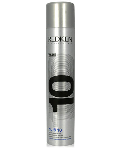 Redken Guts 10 Volume Spray Foam, 10.5-oz., from PUREBEAUTY Salon & Spa