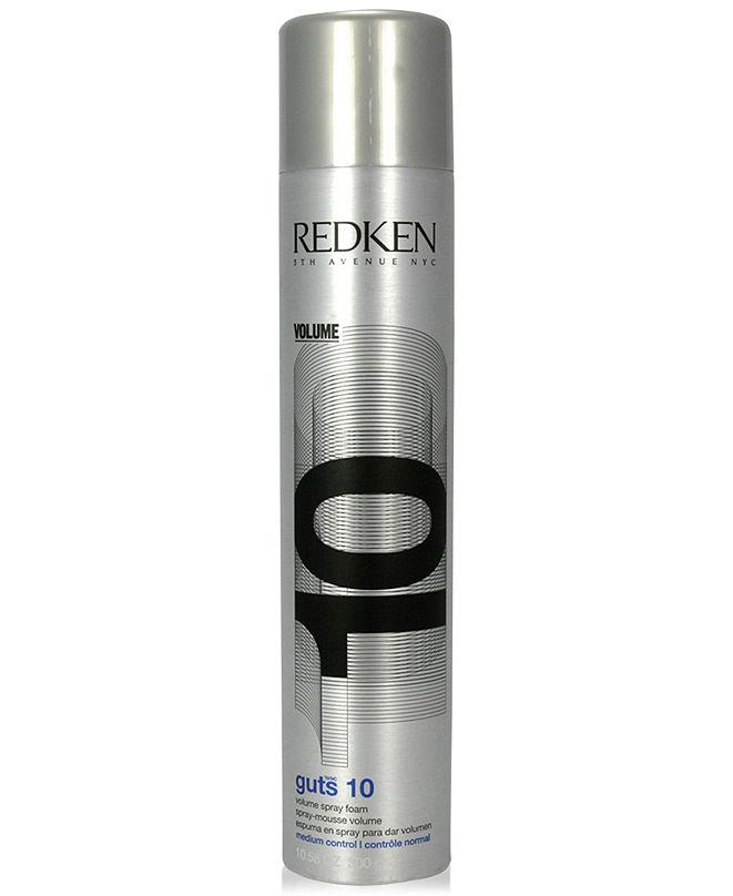 Redken Guts 10 Volume Spray Foam, 10.5-oz., from PUREBEAUTY Salon & Spa
