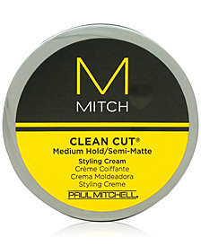 Paul Mitchell Mitch Clean Cut Medium Hold/Semi-Matte Styling Cream, 3-oz., from PUREBEAUTY Salon & Spa