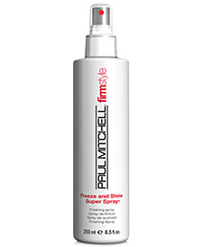 Paul Mitchell Freeze & Shine Super Spray, 8.5-oz., from PUREBEAUTY Salon & Spa