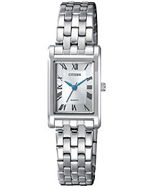 Citizen Women's Quartz Stainless Steel Bracelet Watch 22mm
