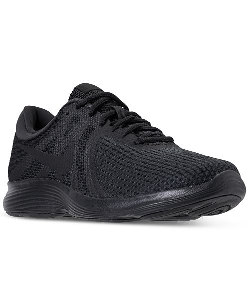 7f09729eb Nike Men's Revolution 4 Running Sneakers from Finish Line & Reviews ...