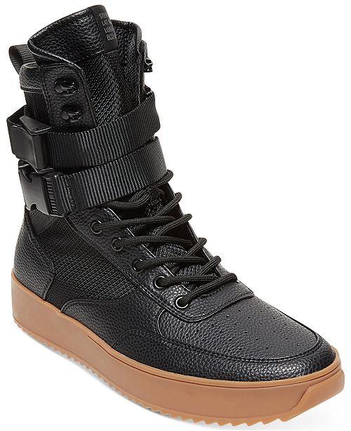 a218208ebc8 Steve Madden Men s Zeroday High-Top Sneakers   Reviews - All Men s ...