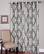 Elrene Linen Medina Curtain Panels