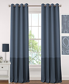"Elrene Madeline Colorblocked 52"" x 84"" Blackout Panel"