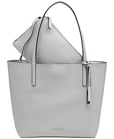 Calvin Klein Pebble Tote with Pouch