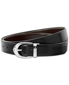 Montblanc Men's Reversible Leather Belt