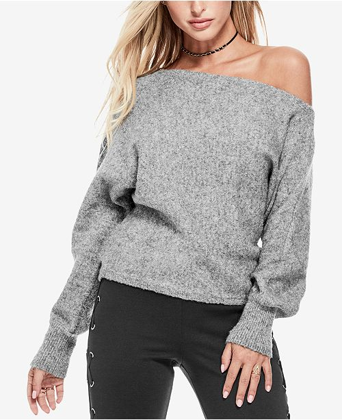 a9d76afae GUESS Catrina Off-The-Shoulder Sweater   Reviews - Sweaters ...