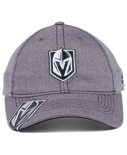 3c93465c58f adidas Vegas Golden Knights Slouch Cap - Sports Fan Shop By Lids ...