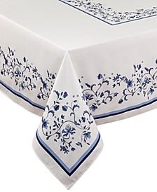 """Blue Portofino 60"""" x 120"""" Tablecloth"""