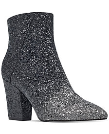 Nine West Savitra Block-Heel Booties