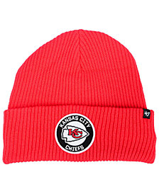 '47 Brand Kansas City Chiefs Ice Block Cuff Knit Hat