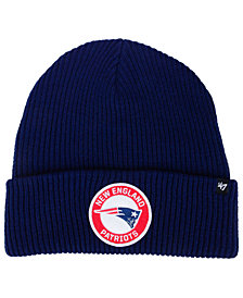 '47 Brand New England Patriots Ice Block Cuff Knit Hat
