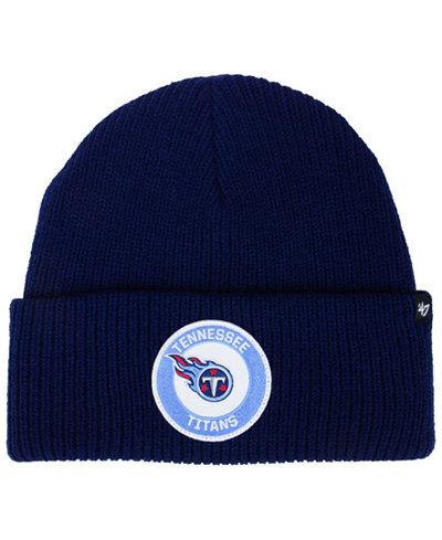 '47 Brand Tennessee Titans Ice Block Cuff Knit Hat