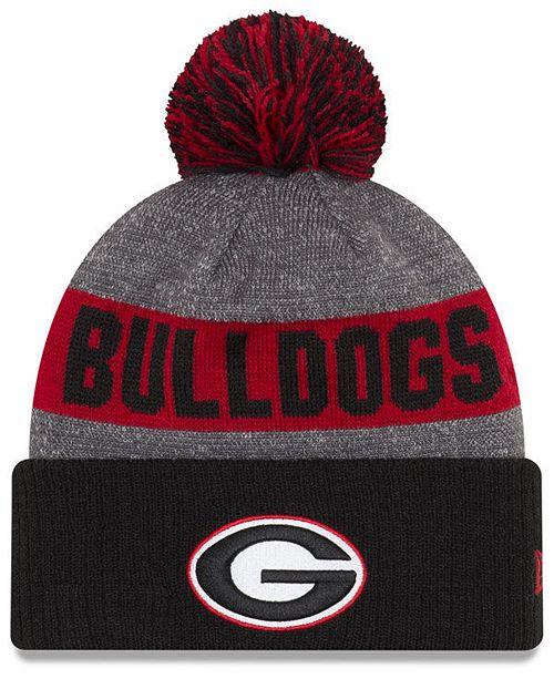 New Era Georgia Bulldogs Sport Knit Hat - Sports Fan Shop By Lids ... ac0ca64fc57