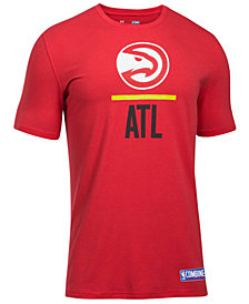 Under Armour Men's Atlanta Hawks Lockup T-Shirt