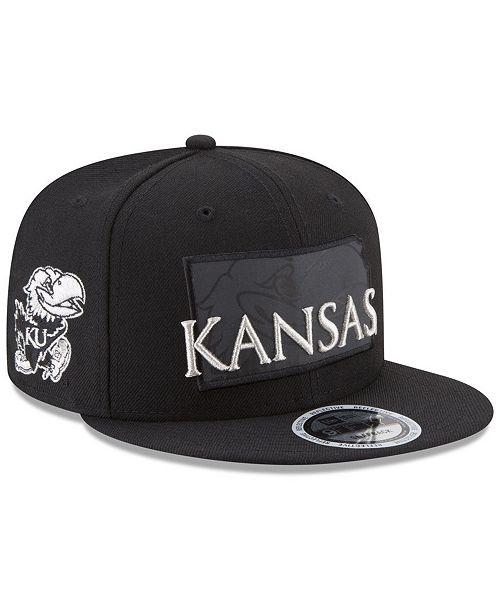 timeless design 3bd8a 0d1b9 ... uk new era. kansas jayhawks state flective 9fifty snapback cap. be the  first to