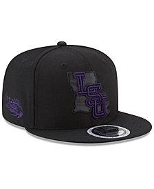 New Era LSU Tigers State Flective 9FIFTY Snapback Cap