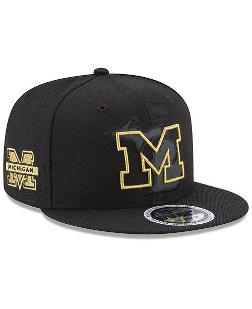 ... New Era Michigan Wolverines State Flective 9FIFTY Snapback Cap ... e9d66a0a0ff