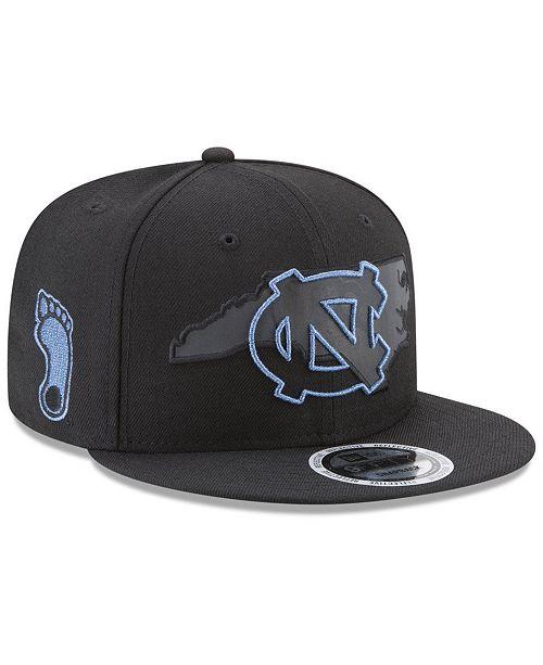 wholesale dealer 114dc 2cc12 ... New Era North Carolina Tar Heels State Flective 9FIFTY Snapback Cap ...
