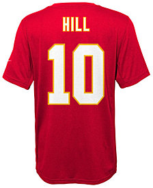 Nike Tyreek Hill Kansas City Chiefs Pride Name and Number T-Shirt, Big Boys