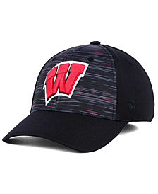 Top of the World Wisconsin Badgers Flash Stretch Cap