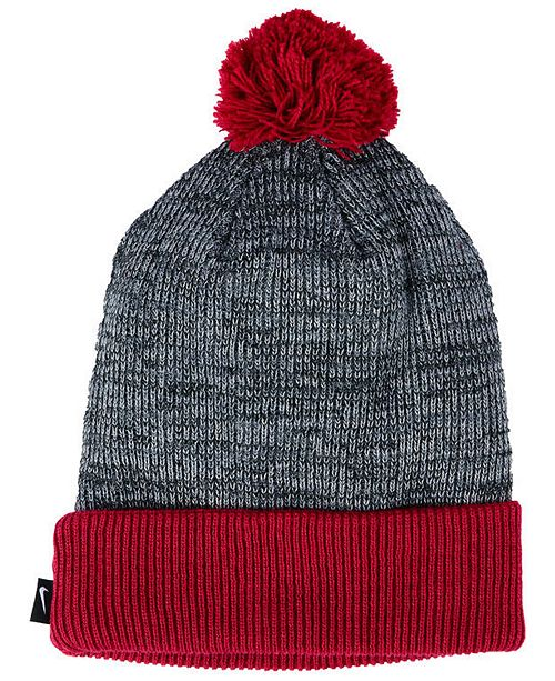 free shipping ddd0d 52562 ... promo code for nike alabama crimson tide heather pom knit hat sports  fan shop by 324e9