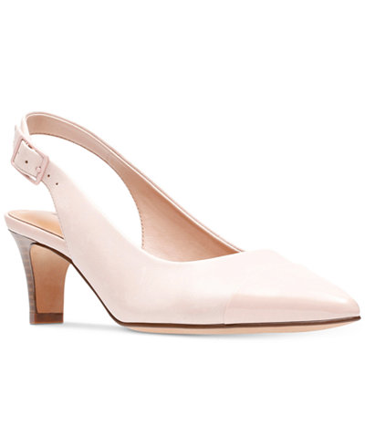 Clarks Collection Women's Crewso Emmy Slingback Pumps
