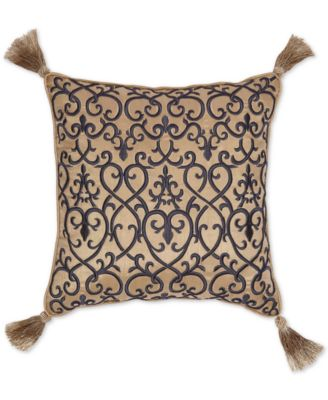 "CLOSEOUT! Calice 16"" x 16"" Fashion Decorative Pillow"