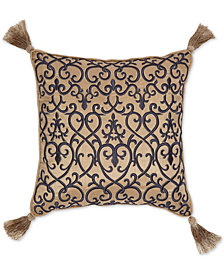 "CLOSEOUT! Croscill Calice 16"" x 16"" Fashion Decorative Pillow"