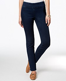 Cambridge Pull-On Slim Jeans, Created for Macy's