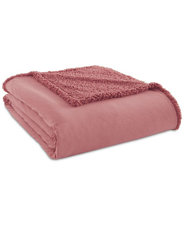 Shavel Micro Flannel® to Sherpa Twin Blanket