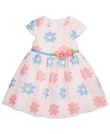 Marmellata Floral-Print Dress, Baby Girls