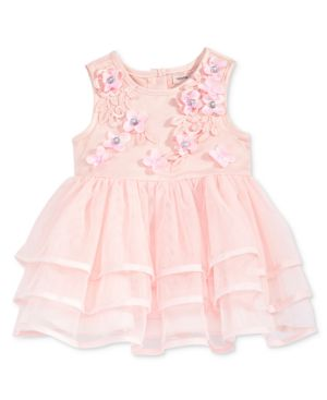 Nanette Lepore Tiered Floral Dress, Baby Girls 5486585