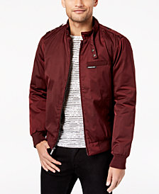 Members Only Men's Classic Zip-Front Jacket