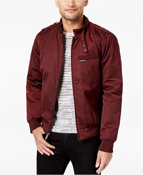4ee7c0730 Members Only Men's Classic Zip-Front Jacket