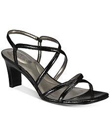Bandolino Obexx Slip-On Strappy Sandals