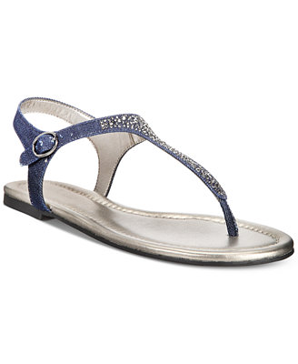 Kyrie Embellished Flat Sandals by Bandolino