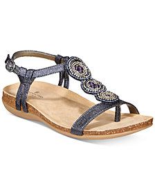 Bandolino B-Flexible Hamper Embellished Sandals