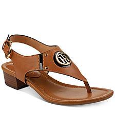 Tommy Hilfiger Kissi Block-Heel Sandals