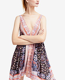 Free People Gypsy Printed Slip Dress
