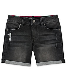 Calvin Klein Boyfriend Bermuda Shorts, Big Girls