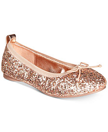 Kenneth Cole Reaction Rose Shine Ballet Flats, Little Girls & Big Girls
