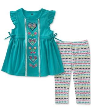 Kids Headquarters 2Pc Tunic  Leggings Set Toddler Girls (2T5T)
