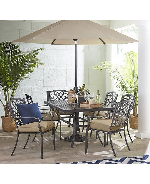 Furniture Park Gate Outdoor Dining Collection, Created for Macy's