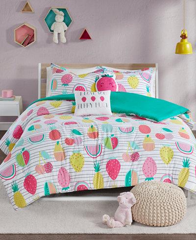 Urban Habitat Kids Frutti Tutti 4-Pc. Twin/Twin XL Duvet Cover Set