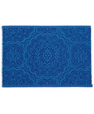 Global Geo Rib Cobalt Placemat